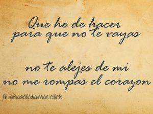 Imagenes de No Te Vayas Amor (desamor)