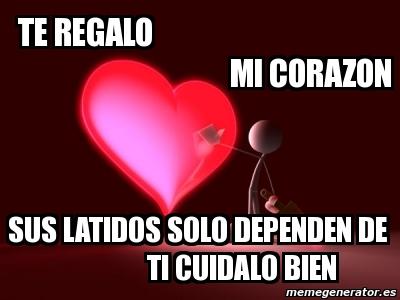 Imagenes De Te Regalo Mi Corazon